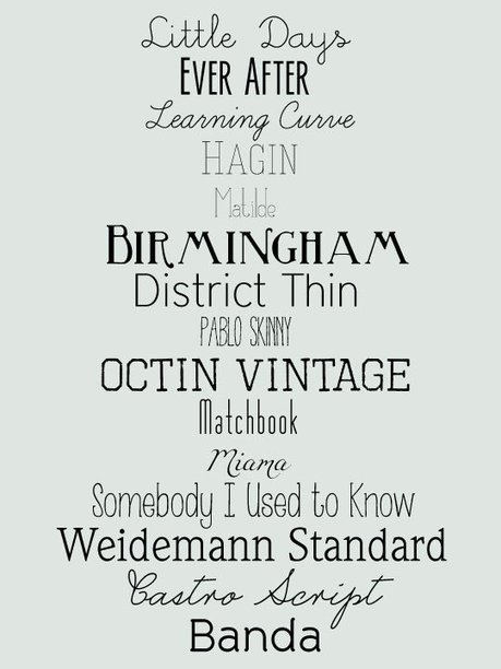 15 Free Fonts for DIY Wedding Invites | Apartment Therapy | Wedding | Scoop.it