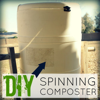 Weed 'em and Reap: DIY Spinning Composter | Modern-Day Homesteader | Scoop.it