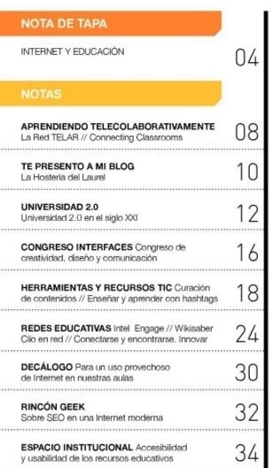 Educación tecnológica: Revista Aprender para educar con Tecnología nº 4 | APRENDIZAJE | Scoop.it