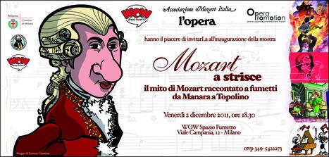 Mozart a strisce: il genio mozartiano raccontato a fumetti da Manara a Topolino | DailyComics | Scoop.it