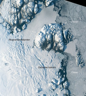 Scientists say Greenland just opened up a major new 'floodgate' of ice into the ocean - Washington Post | #oceans #ocean | Scuba Diving | Scoop.it