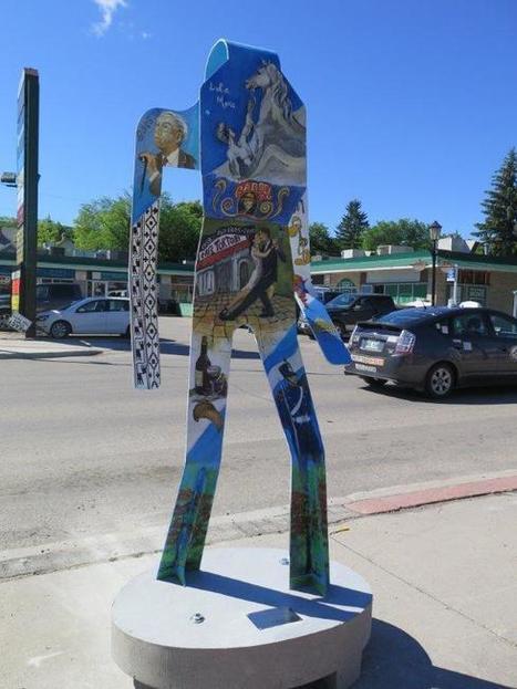Colourful Art Installation Brightening Up Corydon Strip | Winnipeg Market Update | Scoop.it