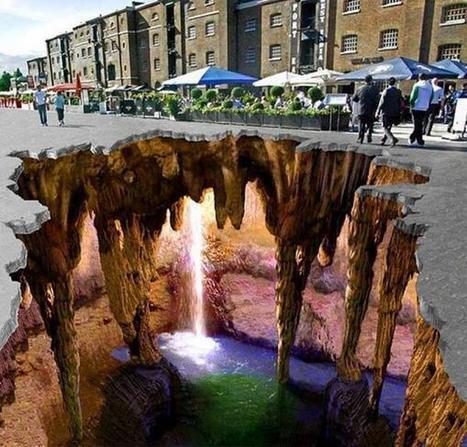 Twitter / Globe_Pics: The amazing 3D street art in ... | Art Education | Scoop.it