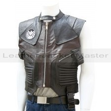 Hawkeye The Avengers Black & Brown Leather Vest | leather Craze | Scoop.it
