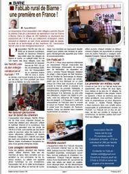 Un FabLab rural à Biarne   Le numérique et la ruralité   Scoop.it