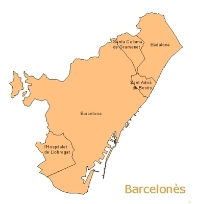The Administrative Districts Of Barcelona and The Barris or Neighbourhoods | Barcelona Expert | Scoop.it