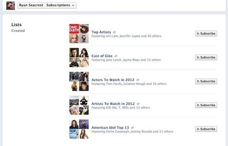 Facebook Introduces Interest Lists, 'Your Own Personal Newspaper' | Advertising in the Digital Age | Scoop.it
