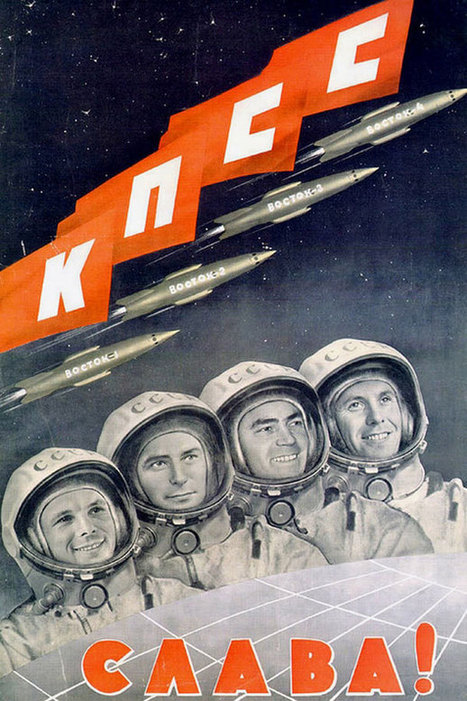Retro Propaganda Posters From Russia's Space Program | What's new in Visual Communication? | Scoop.it