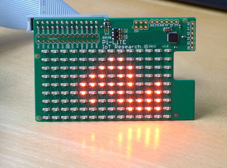 Ciseco Pi-Lite: Make your Raspberry Pi trip the light fantastic with 126 LEDs • The Register | Raspberry Pi | Scoop.it