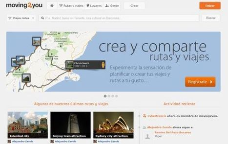 Moving2you – crea, comparte y descubre rutas y lugares interesantes   Nuevas Geografías   Scoop.it