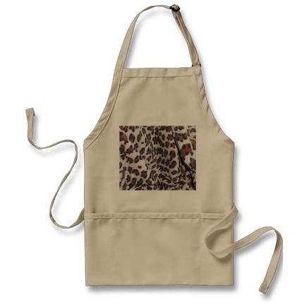 Leopard Spots Aprons from Zazzle.com | Web Trek OT | Scoop.it