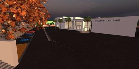 La co-construction du collège l'Estaque en 3D | Co-construire | Scoop.it