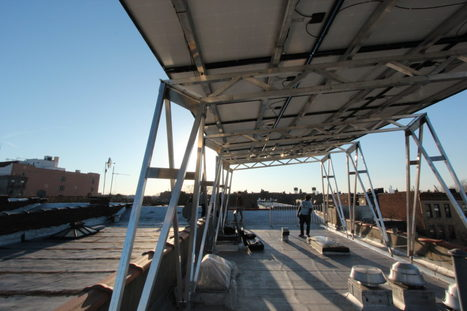 A Clever Canopy Brings Solar Power to Brooklyn at Long Last   News and Insights for Better Banking   Scoop.it