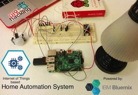IoT based Raspberry Pi Home automation using IBM Bluemix | JOIN SCOOP.IT AND FOLLOW ME ON SCOOP.IT | Scoop.it