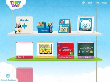 """Game & Book Creator For Toddlers & Pre-Schoolers – TinyTap App : """"THE SHIFT"""" IN EDUCATION   Web 2.0 and Social Media   Scoop.it"""