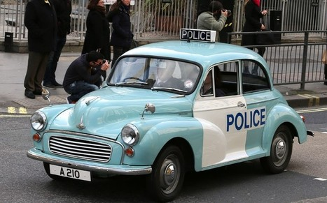Police cars of yesteryear - Telegraph.co.uk   Morris Minor Classic Cars   Scoop.it