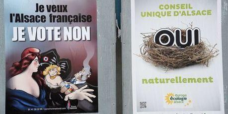 Echec du référendum alsacien de fusion des collectivités