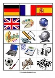 School Subjects in German - Pelmanism - German Teacher Resources | German learning resources and ideas | Scoop.it