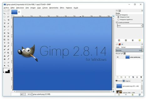 ¿GIMP se te resiste? Así puedes hacer que se parezca a Photoshop | Educacion, ecologia y TIC | Scoop.it