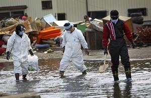 Japon: des villes côtières inondées à marée haute depuis le séisme du 11 mars | Associated Press | Japon : séisme, tsunami & conséquences | Scoop.it