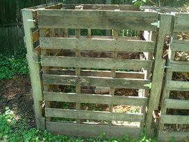 Three and a Third Homestead: Three Bin Composter from Recycled Pallets | Permaculture, Horticulture, Homesteading, Bio-Remediation, & Green Tech | Scoop.it