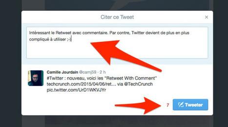 Twitter dévoile le retweet intégré | Les Outils du Community Management | Scoop.it