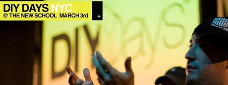 DIY Days – a roving conference for those who create | Transmedia + Storyuniverse | Scoop.it