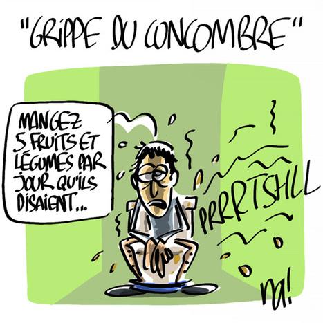 «Grippe du concombre» | Baie d'humour | Scoop.it