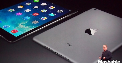 Apple Unveils iPad Air | Mobile (Post-PC) in Higher Education | Scoop.it