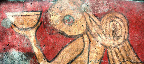 Drunken revels depicted in 1800 year old mural | Past Horizons | Amériques | Scoop.it