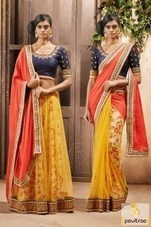 Designer Light Weight Party Wear Sarees   Pavitraa   Scoop.it