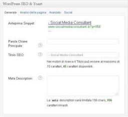 [MINI-GUIDA]: #WordpressSEO il miglior plugin SEO | ToxNetLab's Blog | Scoop.it