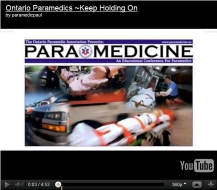 Ontario Paramedic Association - Great Videos | EMS 2.0 | Scoop.it