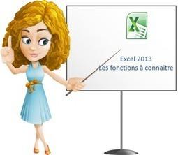 Quelles sont les fonctions Excel à connaitre absolument? | Bureautique pratique | Scoop.it