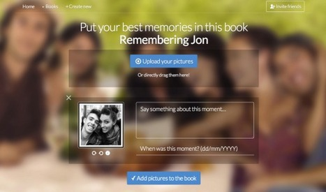 PastBook. Creer un album photo collaboratif | Time to Learn | Scoop.it