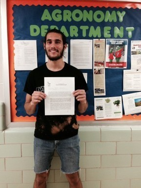 Victor Guerra, Sustainable Food Production Student, Selected for a ...   Sustainable Food Production   Scoop.it
