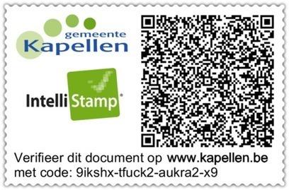 Kapellen pionier als eerste gemeente die gebruik maakt van het IntelliStamp Center | IntelliStamp Center | ICT bedrijfstechnologie | Scoop.it