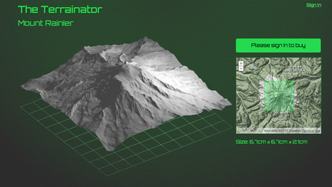Now You Can Get Your Favorite Mountain 3D Printed - Gizmodo | AllThings3D | Scoop.it