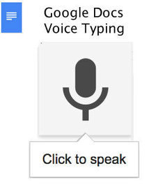 Google Docs Voice Typing | Cool Tools for 21st Century Learners | Google Docs for Learning | Scoop.it