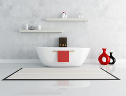Le béton ciré dans une salle de bain - Harmony beton: blog du béton ciré | vie-pratique | Scoop.it