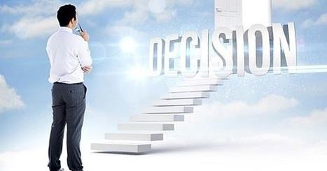 Pensamiento Administrativo: Los decisores lentos son mejores estrategas. ¿Decidir rápido o despacio? | Orientar | Scoop.it