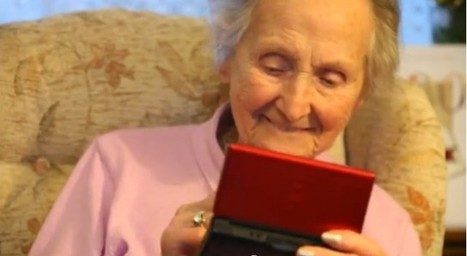 100 year old gamer uses Nintendo DS to keep her mind active | Stuff that Tweaks | Scoop.it
