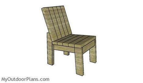 2x4 Chair Plans | MyOutdoorPlans | Free Woodworking Plans and Projects, DIY Shed, Wooden Playhouse, Pergola, Bbq | Garden Plans | Scoop.it