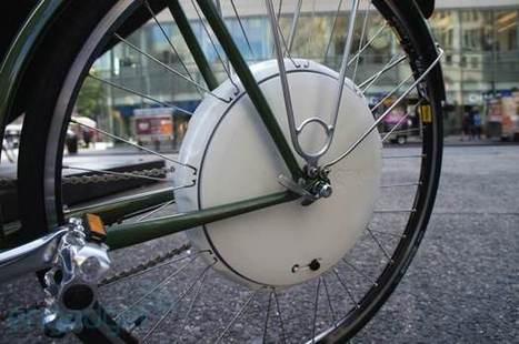 FlyKly's Smart Wheel snaps onto your bike for 2... | Scientific Discoveries | Scoop.it
