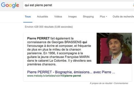 Attention, les « Featured Snippets » arrivent sur Google France et ça pourrait bien changer la donne SEO ! - Actualité Abondance | SI mon projet TIC | Scoop.it
