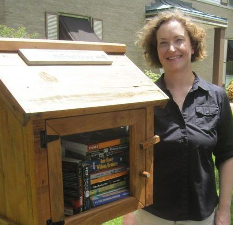 Little Free Libraries Spread The Joy Of Books In Central Illinois | Libraries throughout the world | Scoop.it