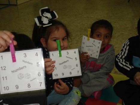 El Blog de Espe: Numbers and pegs: Actividad para reforzar los números en Infantil y Primaria. | Internet | Scoop.it