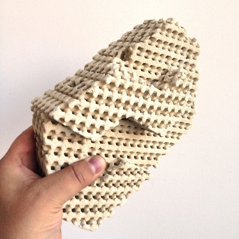 Intricate 3D printed ceramic bricks would cool homes with evaporation | Five Regions of the Future | Scoop.it