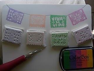 Viva la Vida by MJ: Papel Picado Stamps | papel picado | Scoop.it