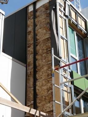 Façades passives en caissons de bois pour logements sociaux | Architecture pour tous | Scoop.it